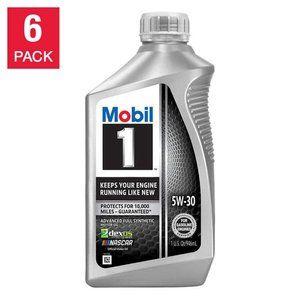 Mobil 1 Advanced Full Synthetic Motor Oil 5W-30